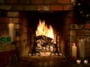 Living Fireplace Video Screensaver