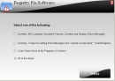 Registry Fix Software