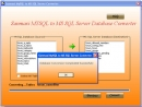 MYSQL to MS SQL Database Converter Program