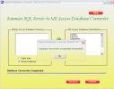 MSSQL to MS Access Database Converter Tool