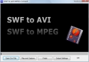 Free SWF to AVI MPEG Convert