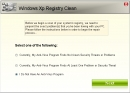 Windows XP Registry Clean