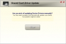 Sound Card Driver Update