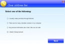 Clear Address Bar