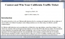 CaliforniaTrafficTicketFixer