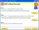 Convertidor F�cil de Usar de PDF a Word (Easy-to-Use PDF to Word Converter)