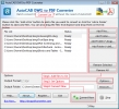 AutoCAD DWG to PDF Converter 2011