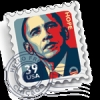 Obama Stamp Screensaver