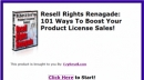 Resell Rights Renegade Software