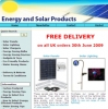 Solar Panels, Solar Lighting