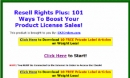 Resell Rights Plus Software