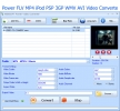 Power FLV MP4 iPod PSP 3GP WMV AVI Video Converter
