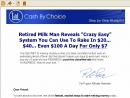 Make Money Online with Cash by Choice