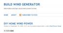Build Wind Generator