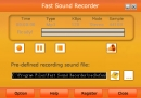 Fast Sound Recorder
