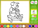 I Color Too: Animals 2