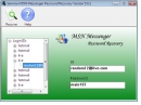 Recover MSN Messenger Password Tool