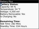 Battery Plus- BlackBerry Battery Booster