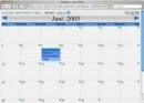 Free Web Calendar