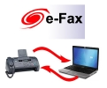 E fax