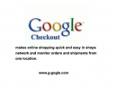 Gogle Checkout