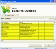 Convert Excel to Outlook