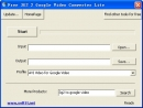 Free 3G2 2 Google Video Converter Lite