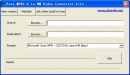 Free MPEG-4 to WM Video Converter Lite