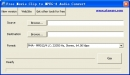 Free Movie Clip to MPEG-4 Audio Convert