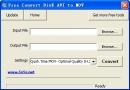 Free Convert DivX AVI to MOV