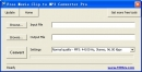 Free Movie Clip to MP3 Converter Pro