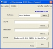 3GPP to Blackberry 8300 Free Convert