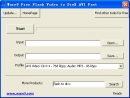 Ware9 Free Flash Video to DivX AVI Fast