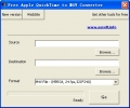 Free Apple QuickTime to M4V Converter