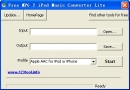 Free MPG 2 iPod Music Converter Lite