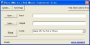 Free M4A to iPod Music Converter Lite