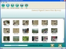 Formatted digital camera images recovery
