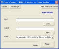 Free Convert MPEG-4 Audio to Zune Audio