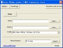 Free UTube video 2 MPG Converter Lite