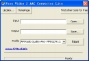 Free Video 2 AAC Converter Lite