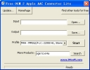 Free OGM 2 Apple AAC Converter Lite