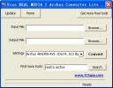 Free REAL MEDIA 2 Archos Converter Lite