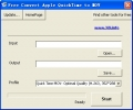 Free Convert Apple QuickTime to MOV