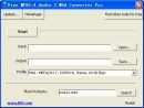 Free MPEG-4 Audio 2 M4A Converter Pro