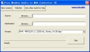 Free Monkey Audio to M4A Converter SE