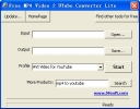 Free MP4 Video 2 UTube Converter Lite