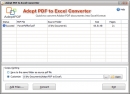 Adept PDF to Excel Converter