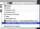 Famous Quote Search for FireFox/Chrome/IE