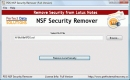 borrar seguridad nsf (Erase NSF Security)