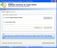 Export Contacts from Outlook to Lotus Notes